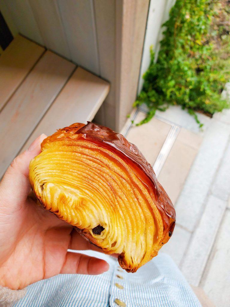 La Boulangerie Django Tokyo Chocolate Croissant - TheBellaInsider.com
