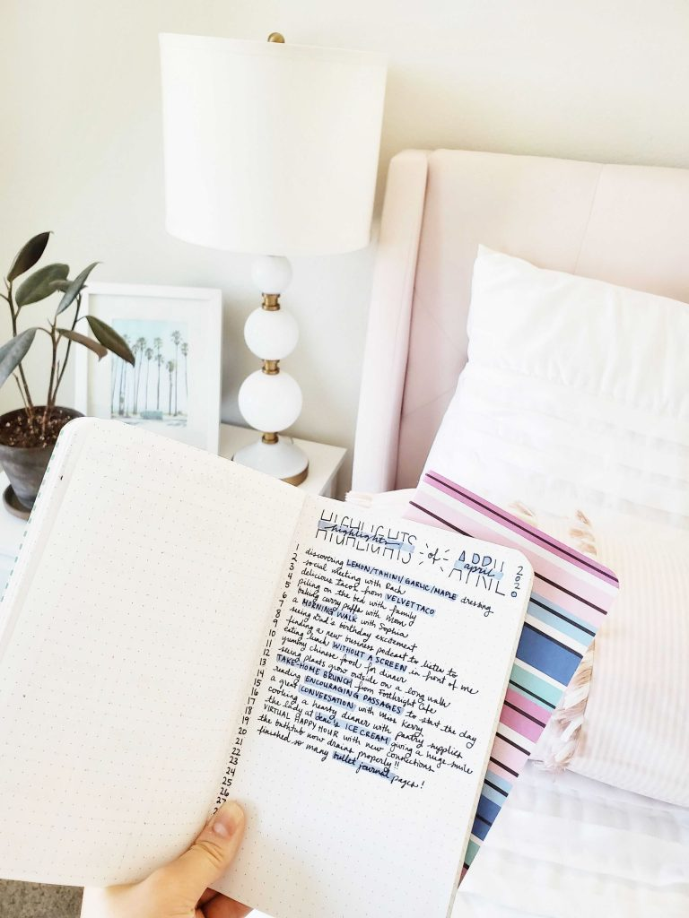 3 Journal Prompts To Try: Highlights of the Month - TheBellaInsider.com