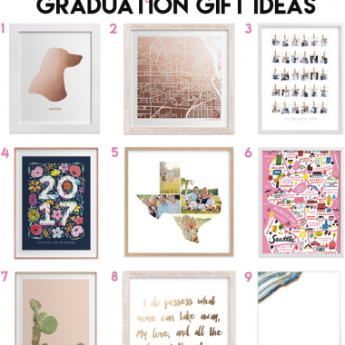 Customizable Graduation Gifts - Minted