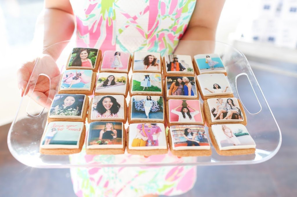 Class of 2020 Kellie's Baking Co Photo Cookies - TheBellaInsider.com