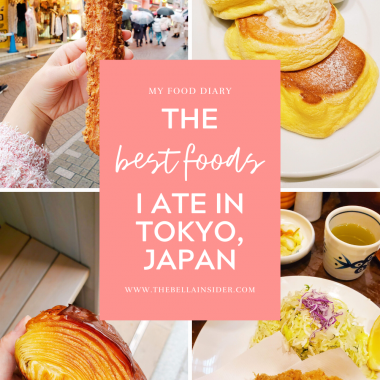 Tokyo Food Diary - TheBellaInsider.com