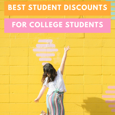 The Ultimate List of Best Student Discounts - TheBellaInsider.com
