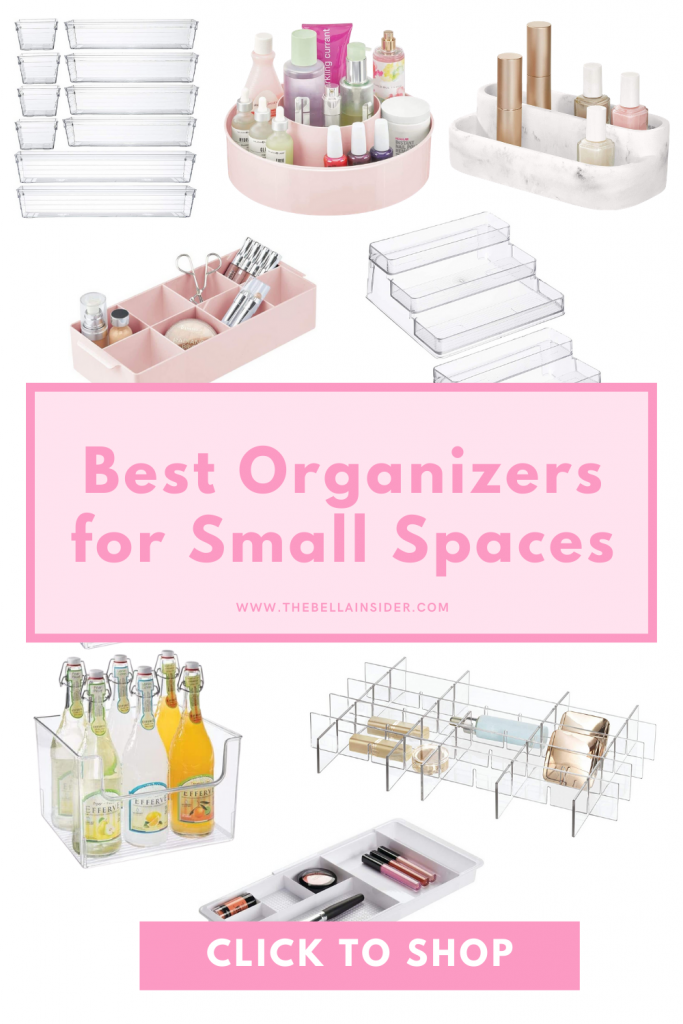 Best Organizers for Small Spaces - TheBellaInsider.com