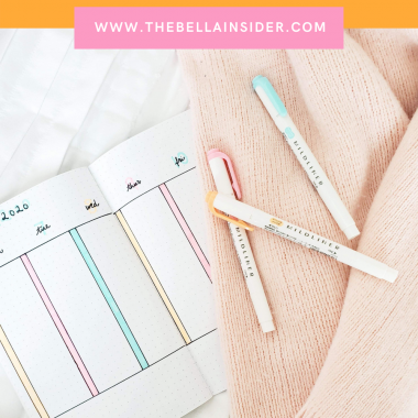Top Bullet Journal Tips for Beginners - TheBellaInsider.com
