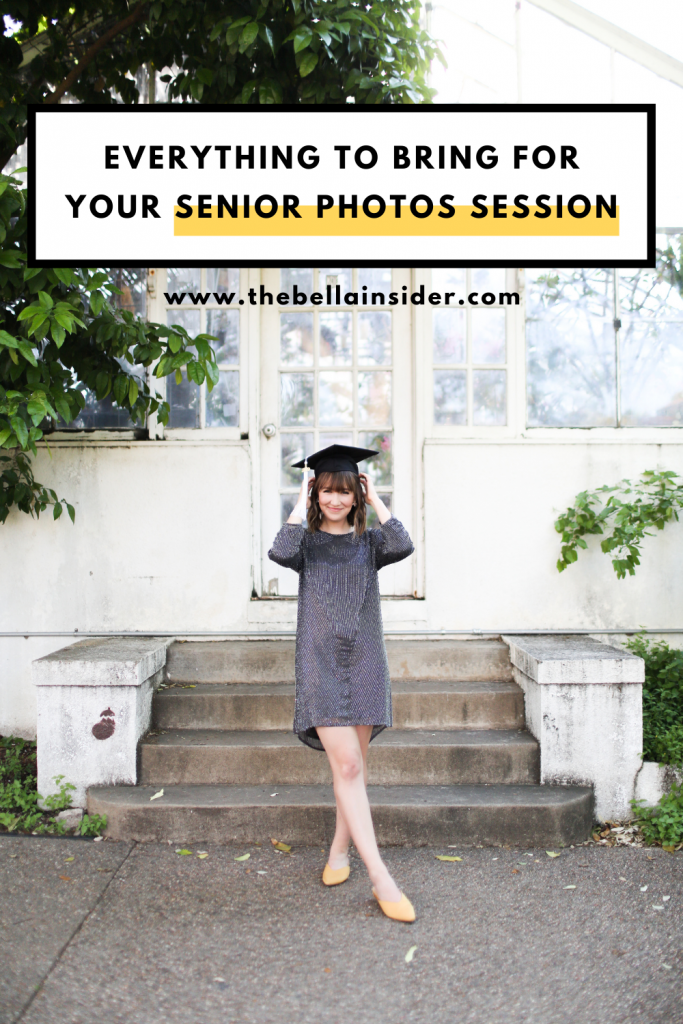 Everything to Bring for Your Senior Photos Session | TheBellaInsider.com