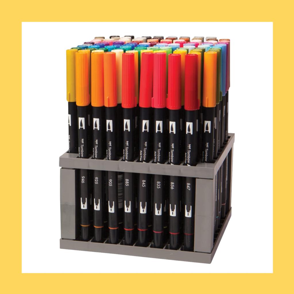 Tombow Dual Brush Pens for Bullet Journal Lovers - TheBellaInsider.com