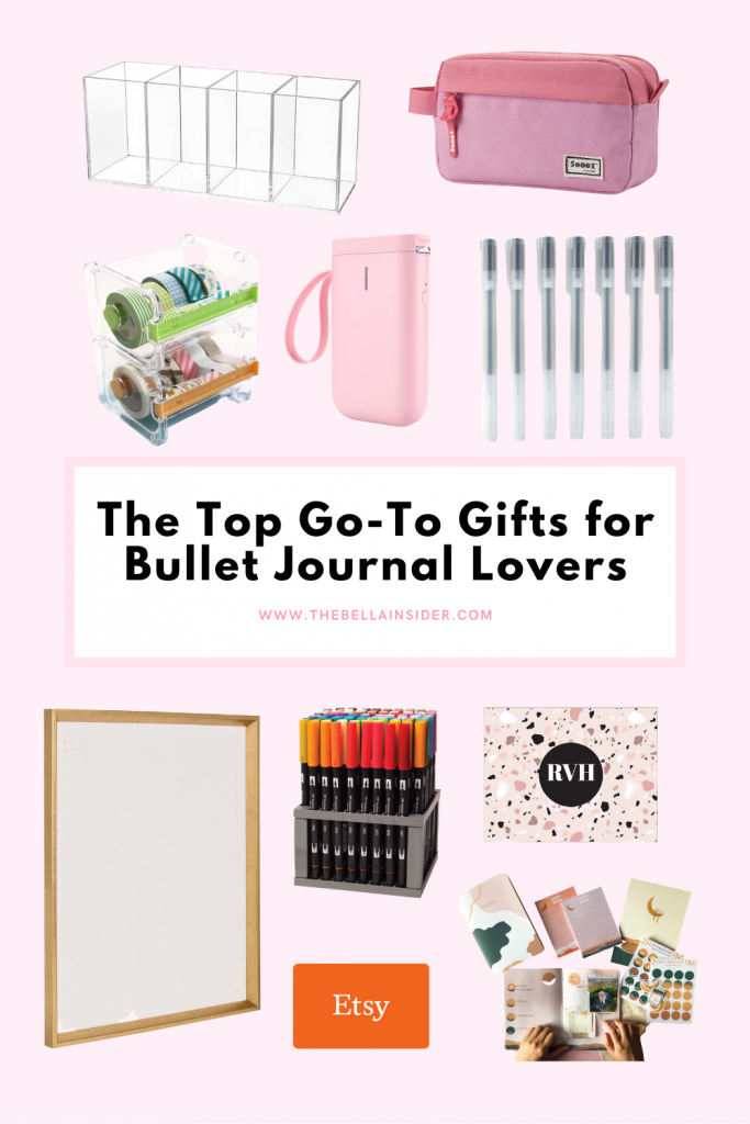 The Top Go-To Gifts for Bullet Journal Lovers - TheBellaInsider.com
